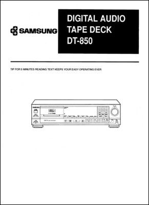 User Manual: DT-850.PDF