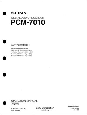 User Manual: PCM-7010.PDF