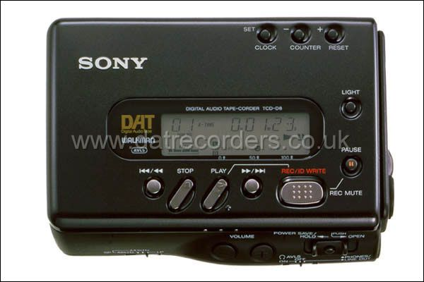 Service manual owner manual for Sony TCD-D7 on 1 cd in pdf format