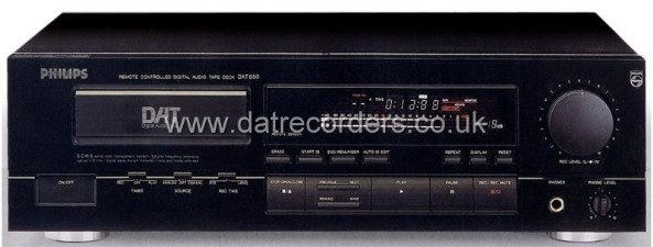 Philips DAT850 DAT Recorder