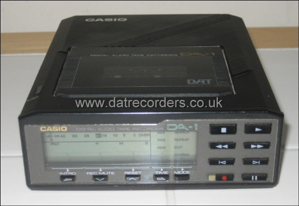 Casio DA-1 Portable DAT Recorder