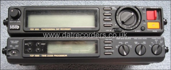 HHB PDR1000TC Professional Timecode DAT Recorder