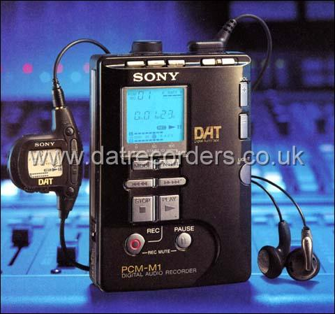 Sony PCM-M1 Professional Portable DAT Recorder